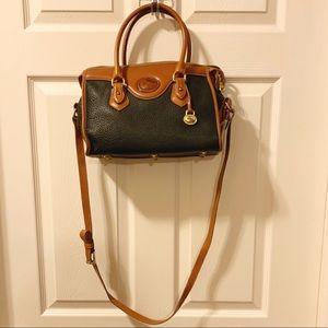 Vintage Green Dooney and Bourke Crossbody Bag